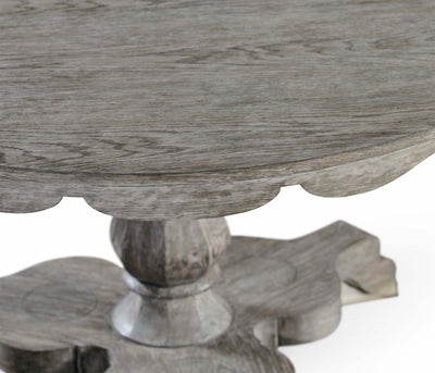 English Grayed Oak Breakfast Table