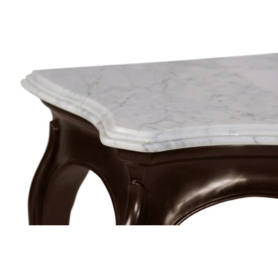 Irish Georgian Marble Top Console