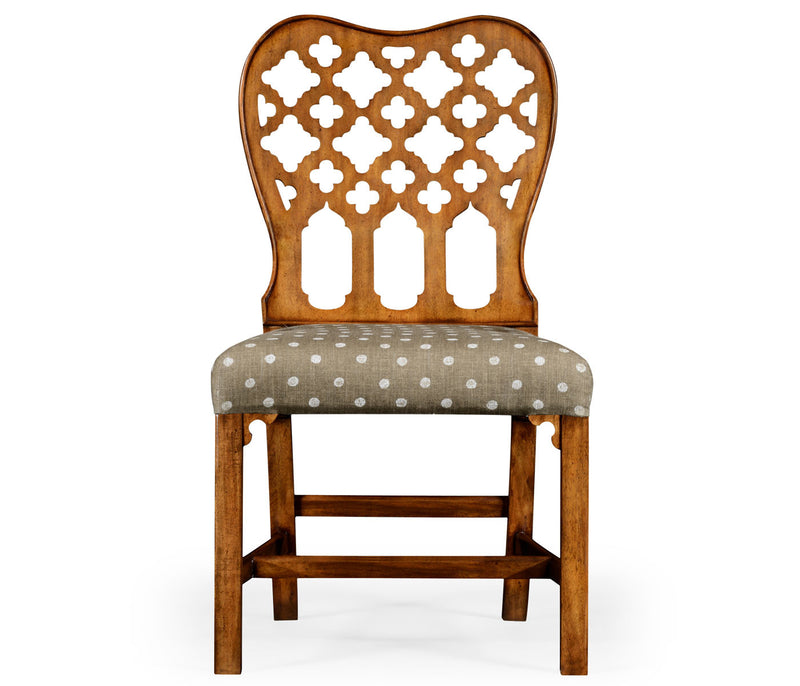 English Gothic Dining Side Chair