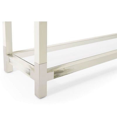 Modern Faux Horn Console Table