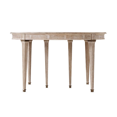 French Neo Classic Extension Dining Table