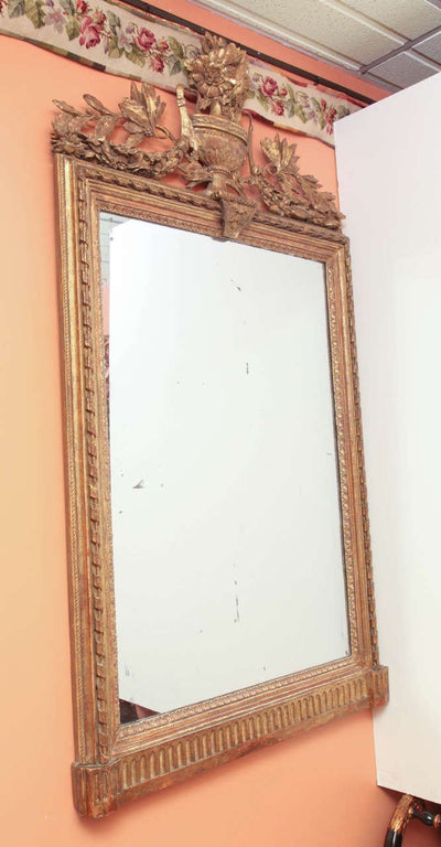 Large Louis XVI Console Mirror