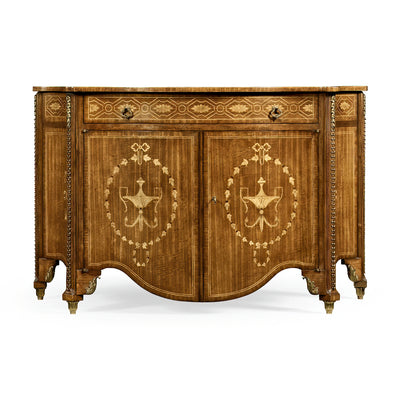 Chippendale Inlaid Chest of Drawers
