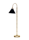 Faux Bamboo Brass Floor Lamp