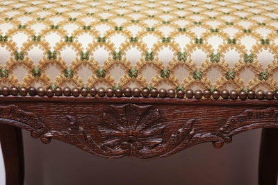 French Regence Carved Stool