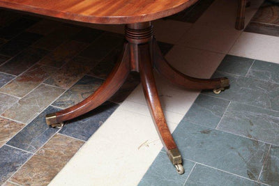 Regency Mahogany Extension Dining Table