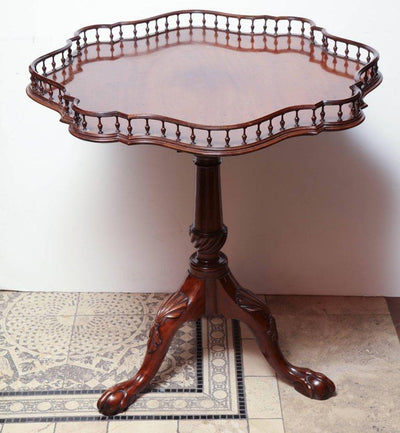 George II Mahogany Tilt-Top Wine Table