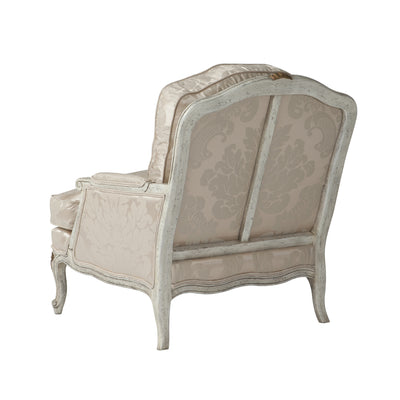 French Louis XV Style Upholstered Armchair