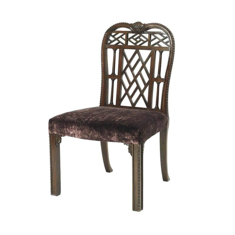 Chinese Chippendale Dining Chair