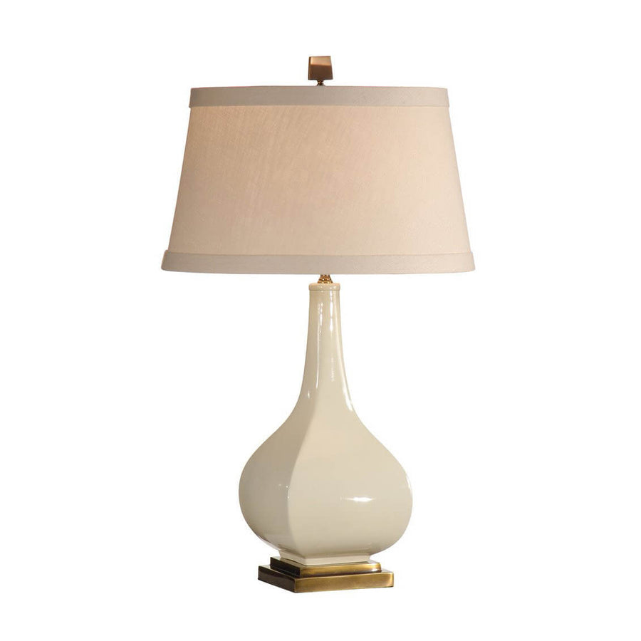 Antiqued Glaze Ceramic Lamp