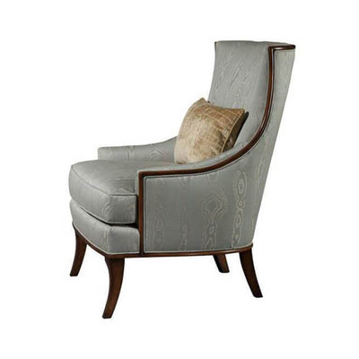 Art Deco Scoop Back Armchair