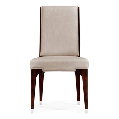 Art Deco Style Upholstered Dining Side Chair