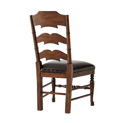 European Ladder Back Side Chair