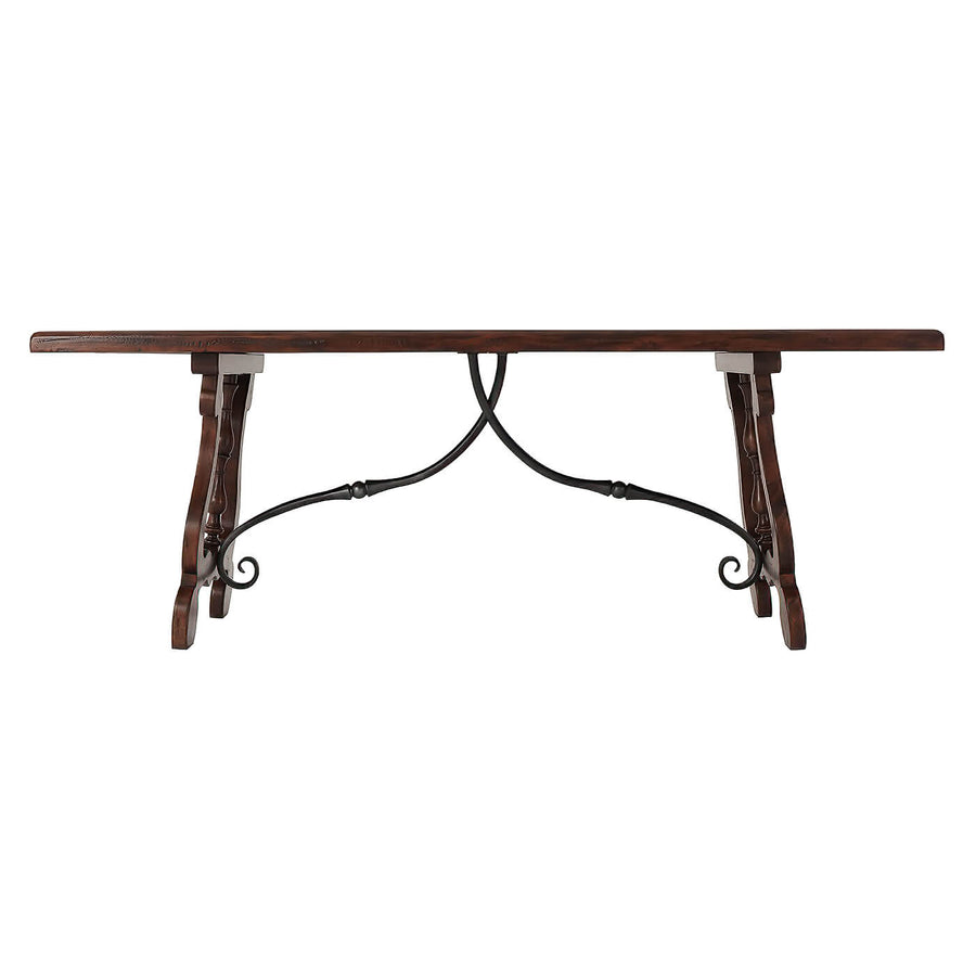Italian Parquetry Refectory Dining Table