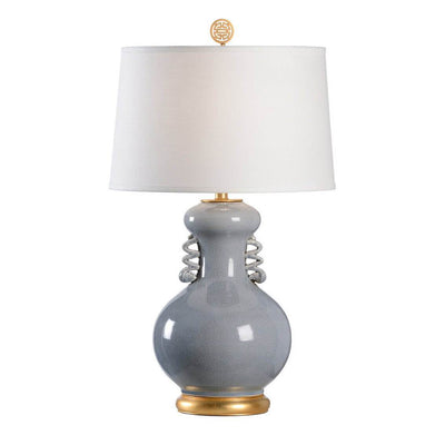 Chinese Crackle Glaze Chan Lamp