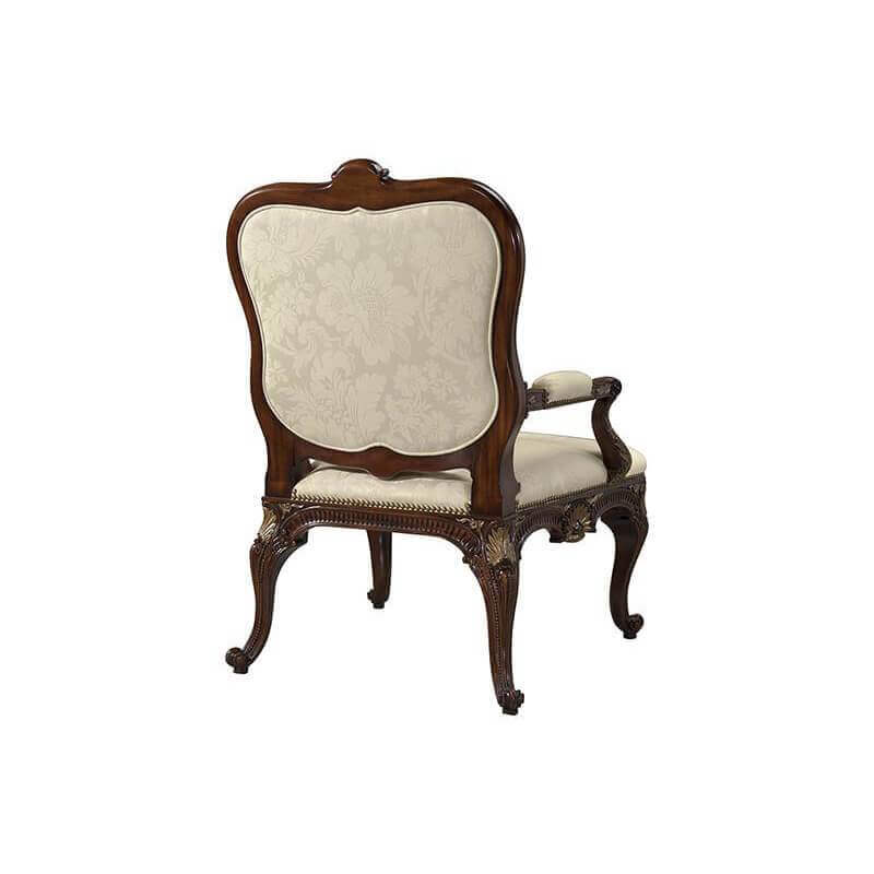 Chippendale Carved Armchair