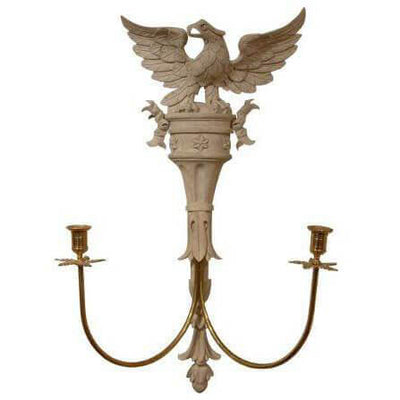 Classical Eagle Carved Wall Light