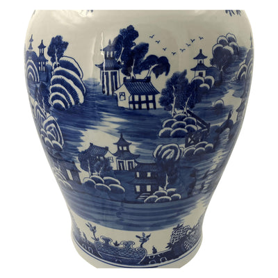 Chinese Blue and White Ginger Jars