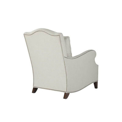 English Serpentine Back Armchair