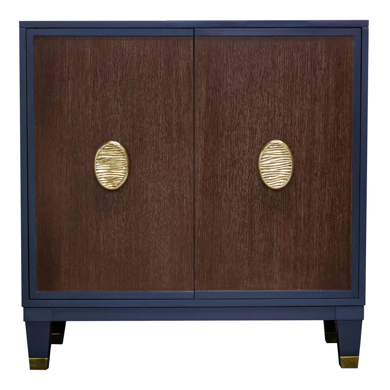Facets Modern 36 Two-Door Cabinet - Coffee
