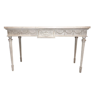 Robert Adam Marble Top Console Table