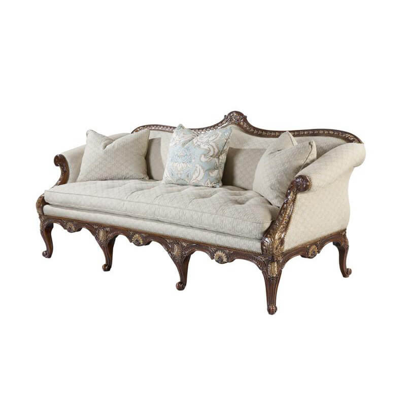 George III Chippendale Sofa