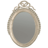 George III Silver Gilt Oval Mirror