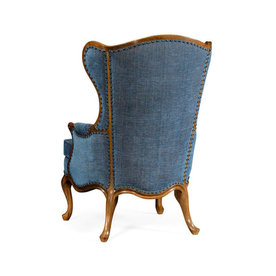 George III Style Carved Wingchair