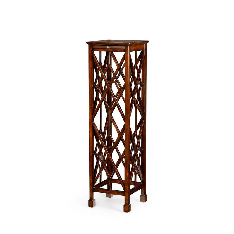 George III Style Lattice Pedestal Table