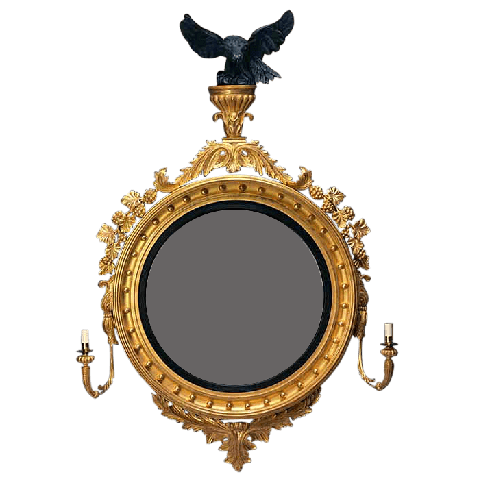 George IV Convex Mirror