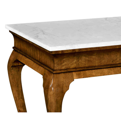 Georgian Marble Top Console