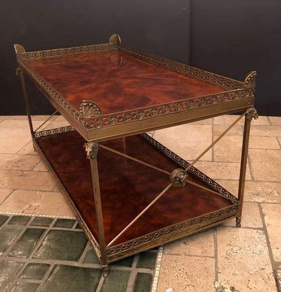 Regency Style Coffee Table