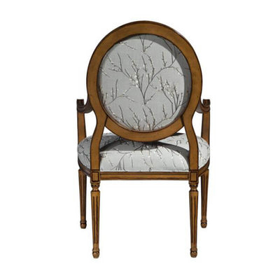 Louis XVI Oval Back Armchair