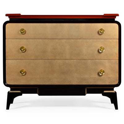 Mid Century Emperor Chest of Drawers