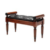 Regency Bench with Bolsters