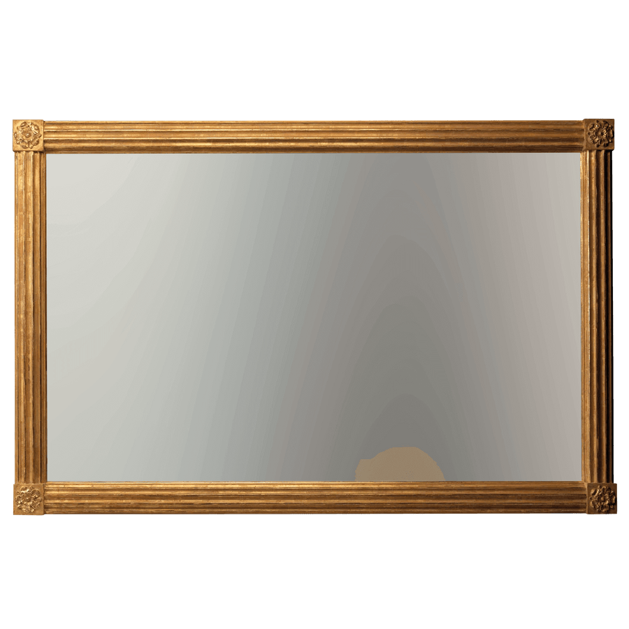 Regency Overmantle Mirror