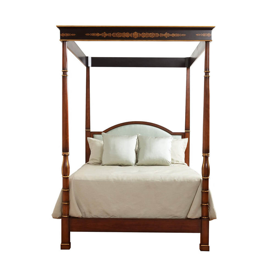 Regency Poster Bed with Canopy