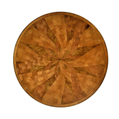 Regency Style Marquetry Center Table