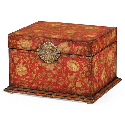 Regency Style Painted Chinoiserie Box