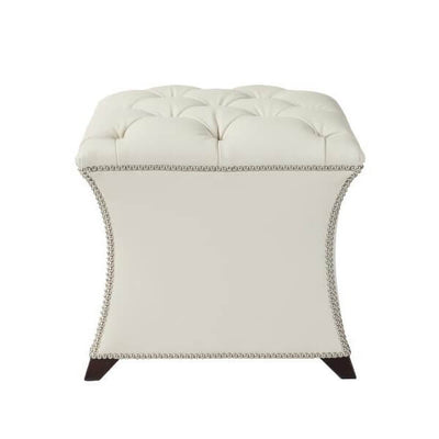 Square Tufted Stool