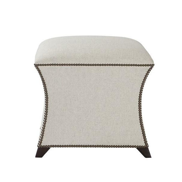 Square Upholstered Stool