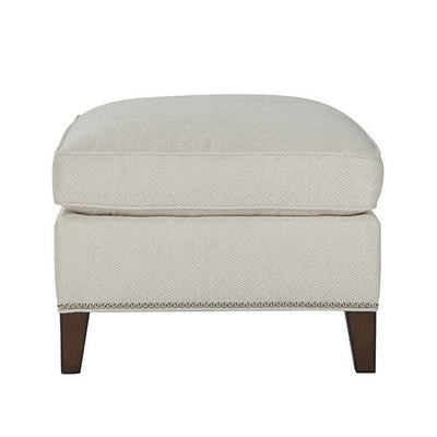Transitional Style Ottoman