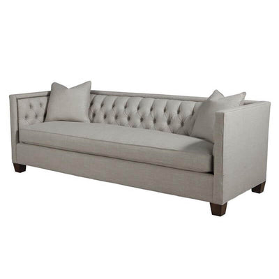 Transitional Tufted Sofa