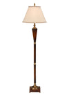 Regency Style Reeded Floor Lamp