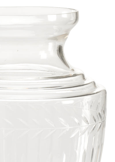 Georgian Cut Glass Vase