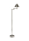 Modern Nickel Finish Floor Lamp
