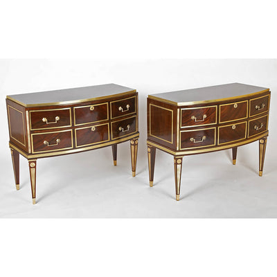 Pair of Russian Commodes