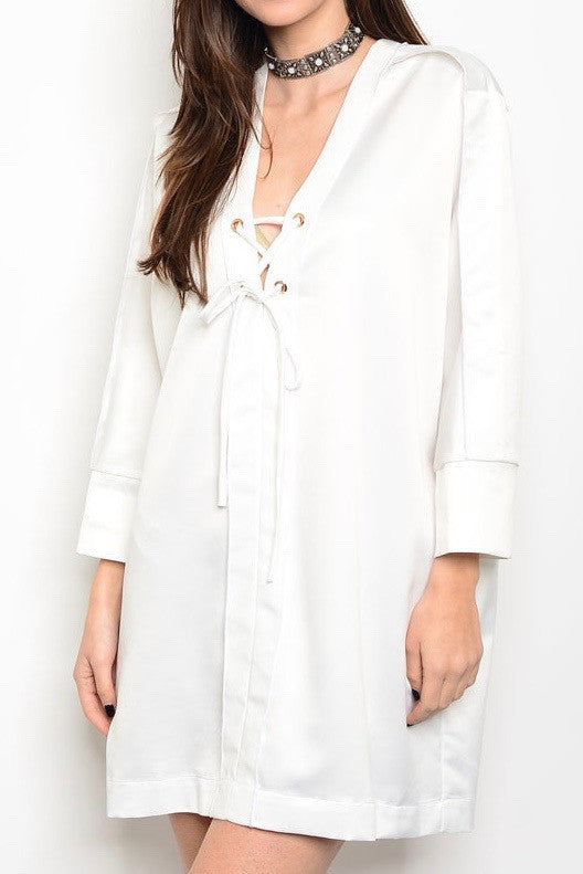 White Tunic Dress