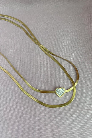 Lover Double Necklace