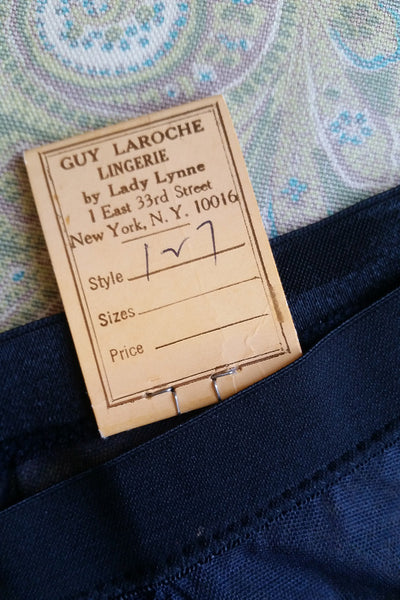 70s Vintage Guy Laroche by Lady Lynne Original Sample Bikini Pantie